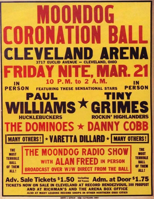Moondog Coronation Ball Flyer