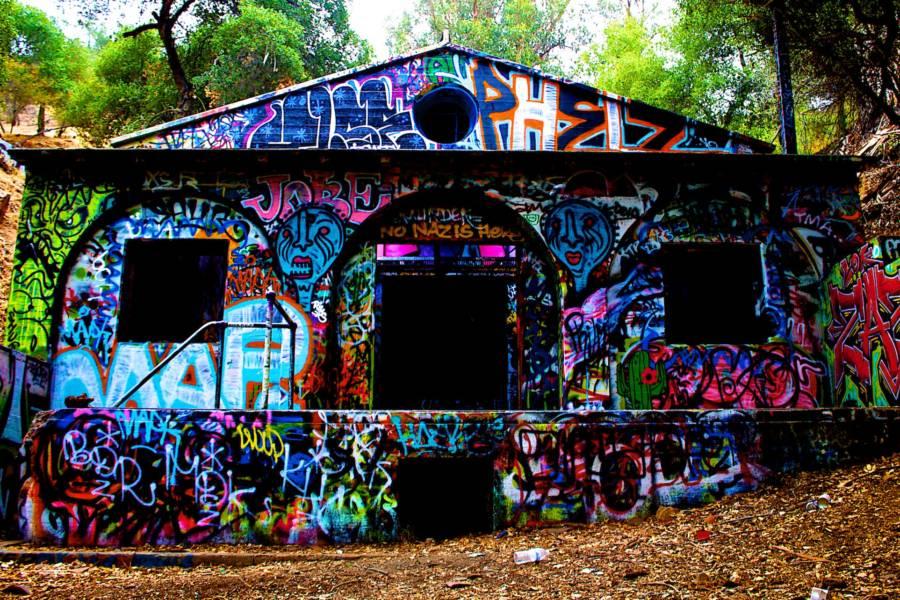 Murphy Ranch Graffiti
