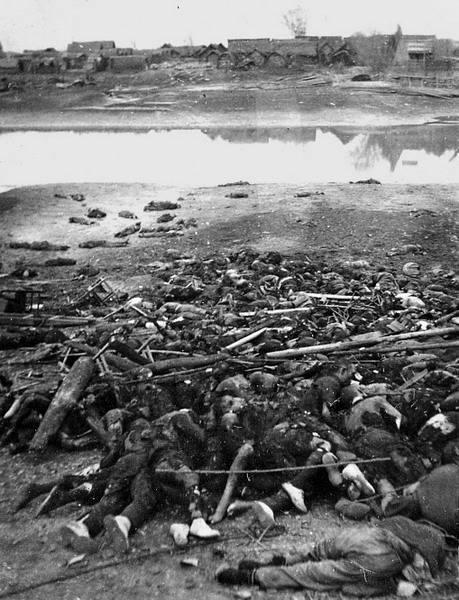 Nanking Massacre Holt testek
