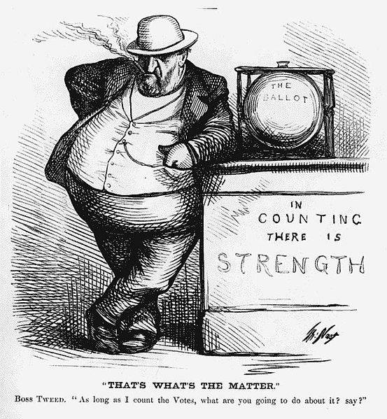 Thomas Nast Political Cartoon