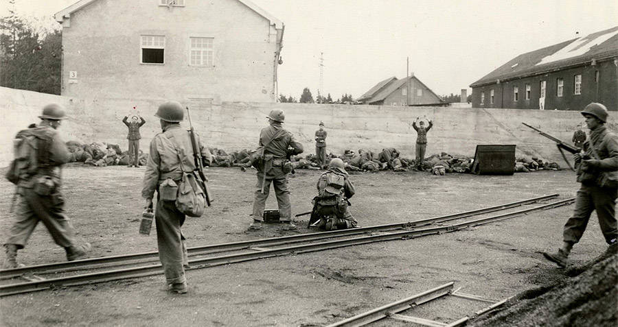 Execution Of SS Camp Guards At Dachau