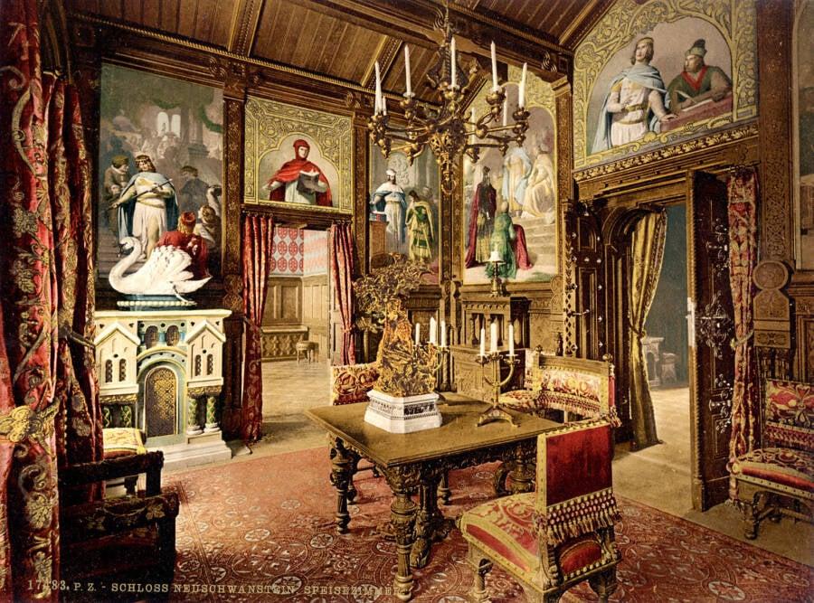 Inside Neuschwanstein Castle