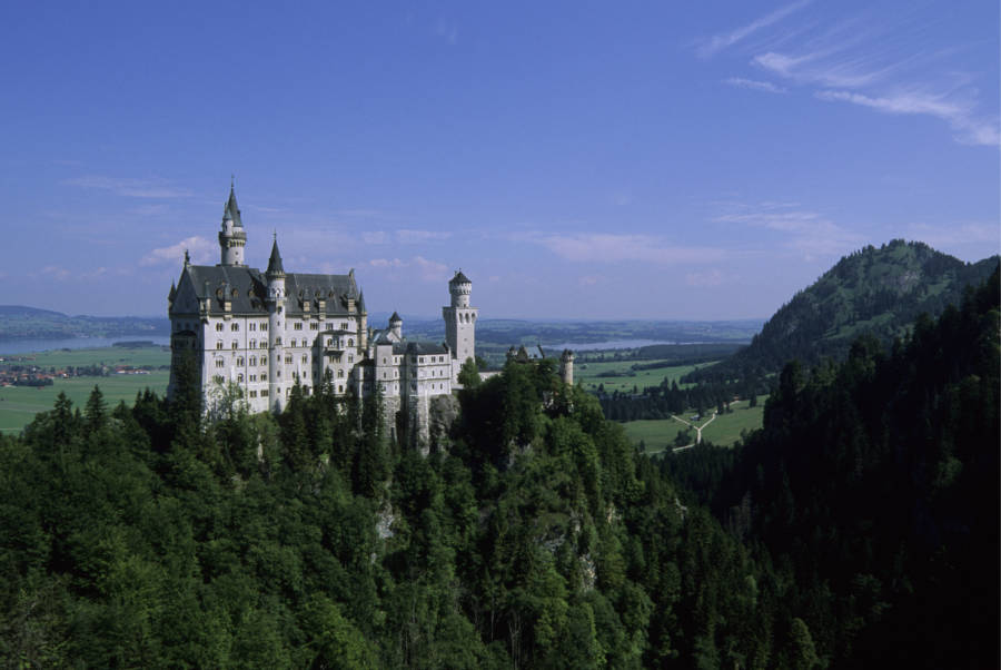 Neuschwanstein From Front Gate