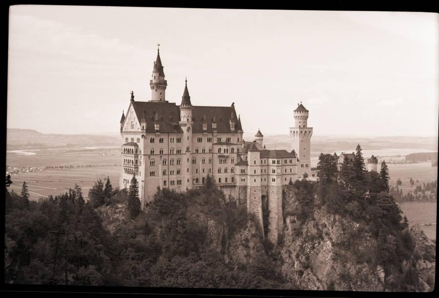 Old Photo Neuschwanstein Castle
