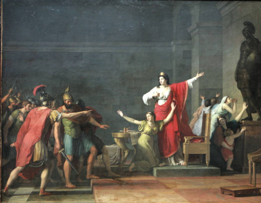 Queen Olympias Painting