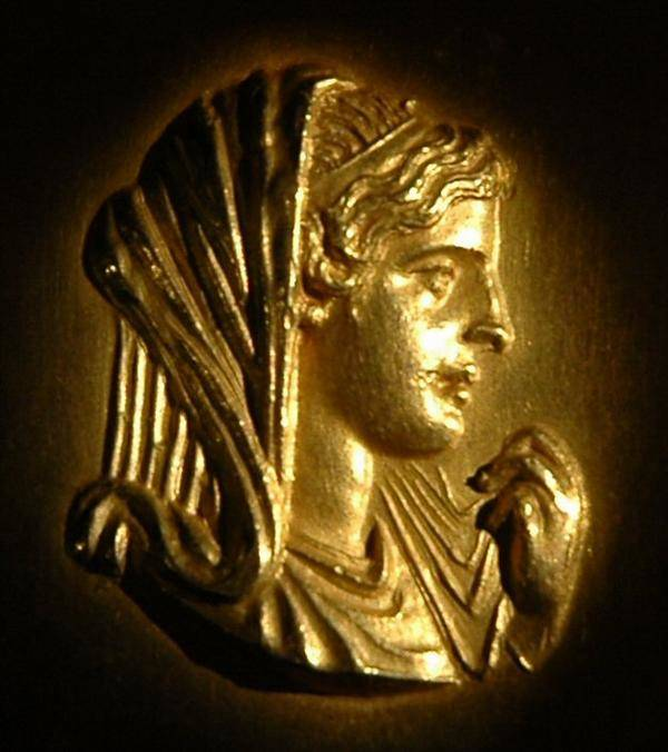 Queen Olympias On A Roman Coin