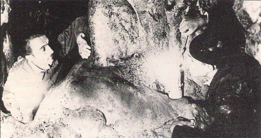 Otto Rahn In Cave of the Hermit