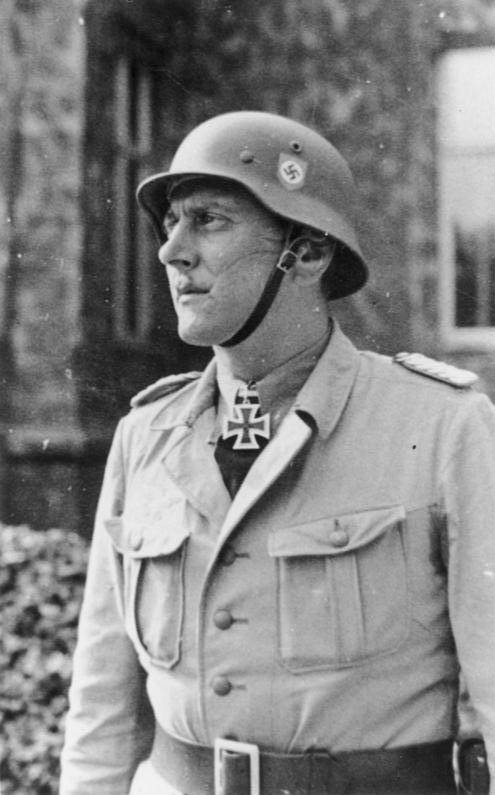 Otto Skorzeny With Iron Cross