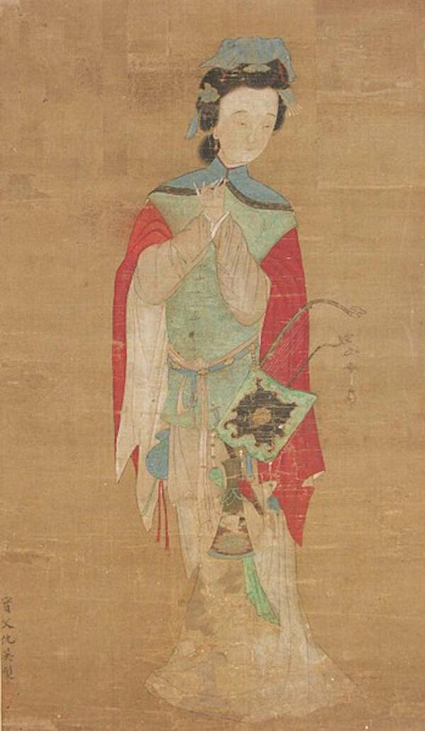 Painting Of Hua Mulan