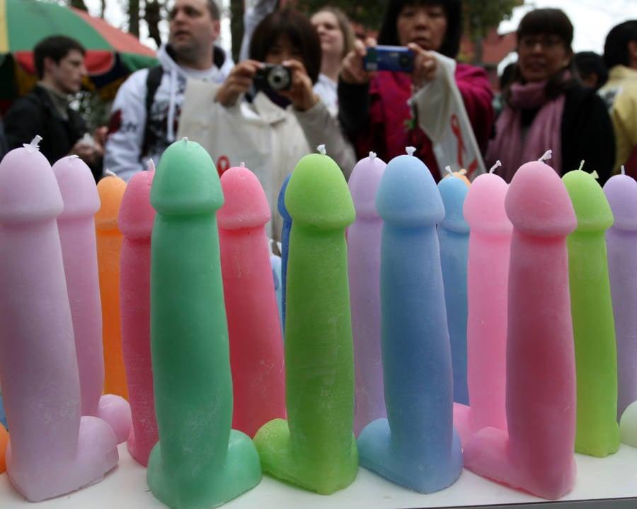 Kanamara Matsuri Penis Candles