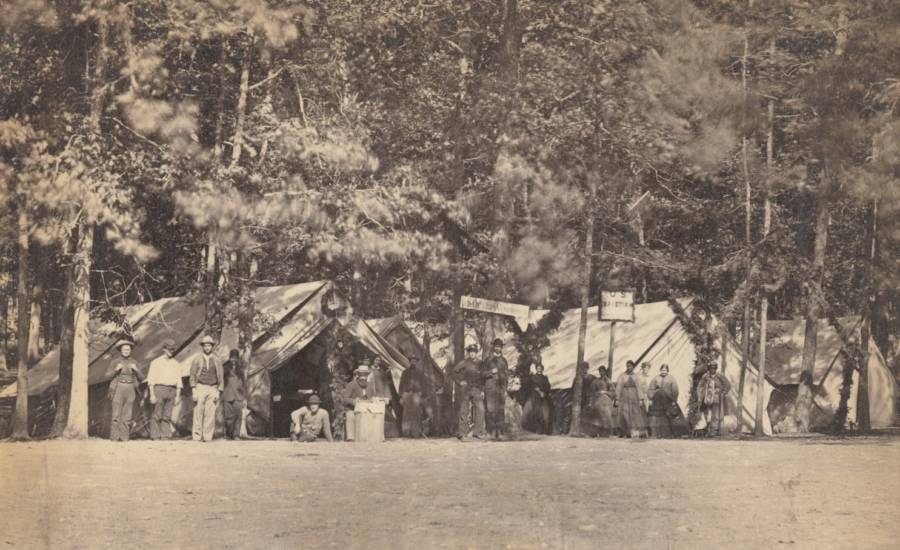 Battle Of Gettysburg Tents
