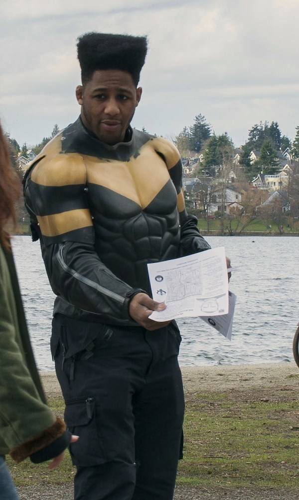 Phoenix Jones Superhero