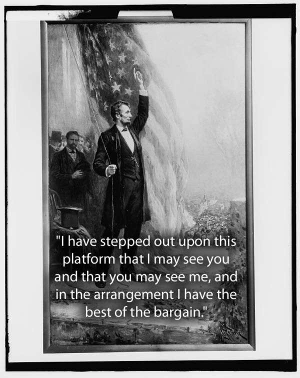 Lincoln Waving