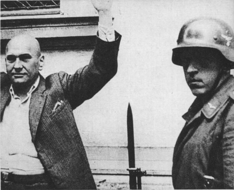 Polish Man And Nazis