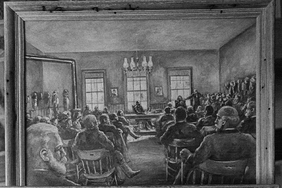 Alferd Packer's Trial