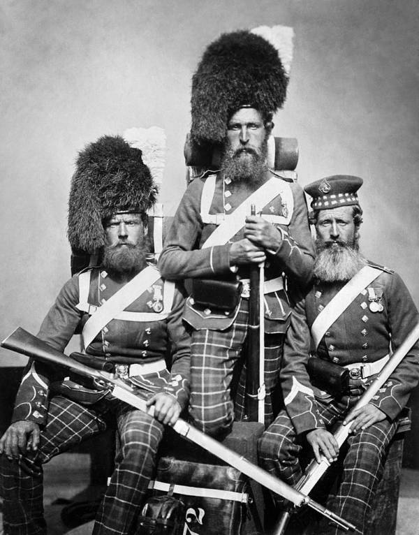 Posed Crimean War Soldiers