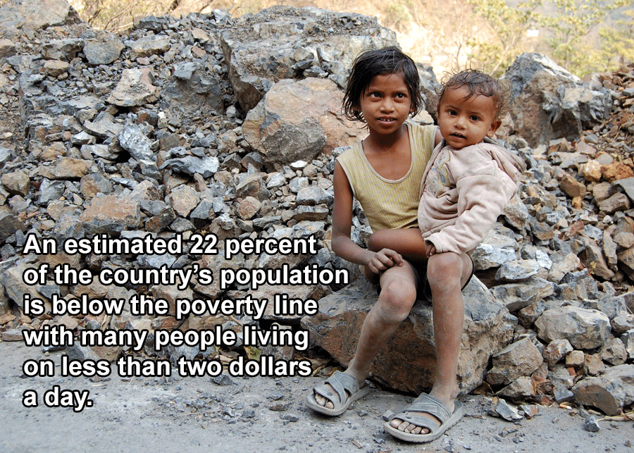 Interesting India Facts Poverty