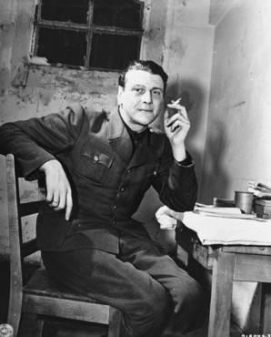 Otto Skorzeny During Nuremberg Trial