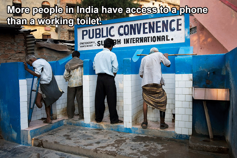 Interesting India Facts Toilets