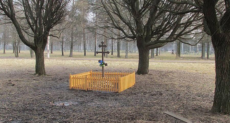 Grigori Rasputin's Grave