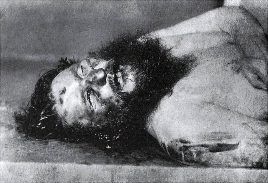 Death Of Rasputin Body