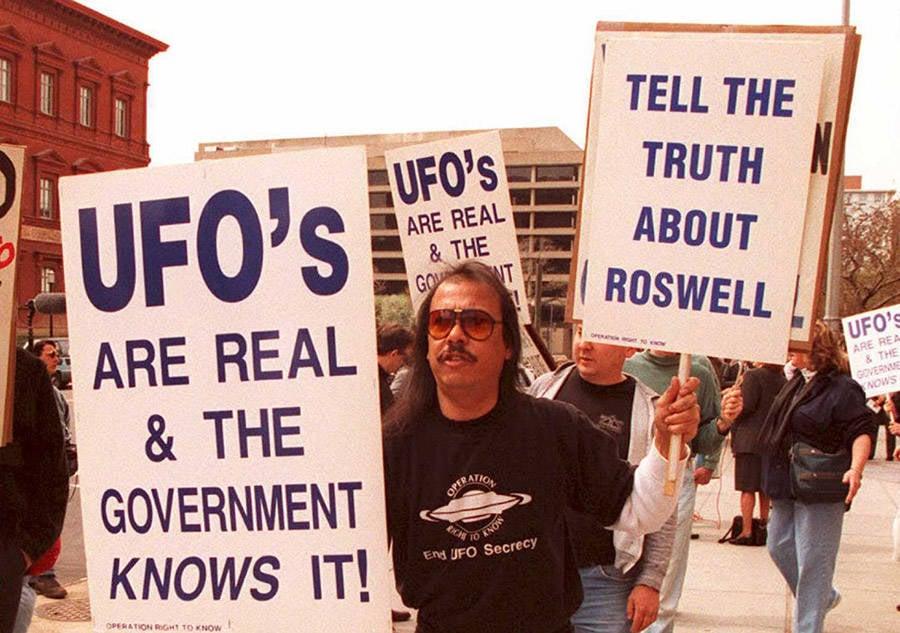 Roswell Protestors