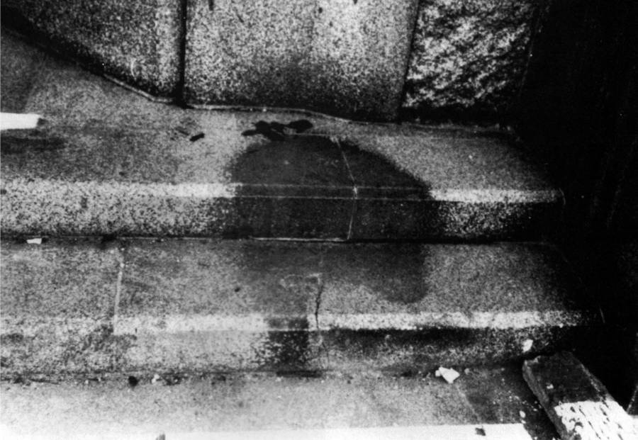 Atomic Bomb Shadow Of A Hiroshima Man