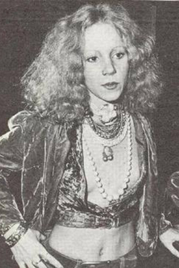 Sable Starr At A Concert In 1973