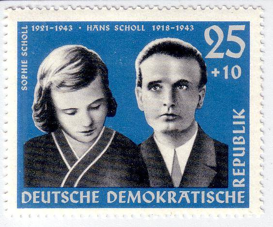 Sophie Scholl Stamp