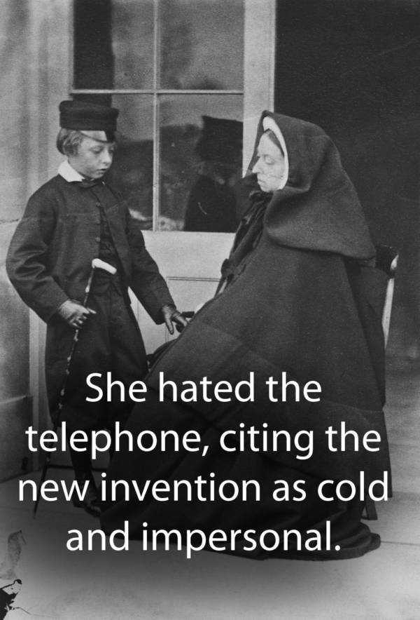 Queen Victoria Hated The Telephone