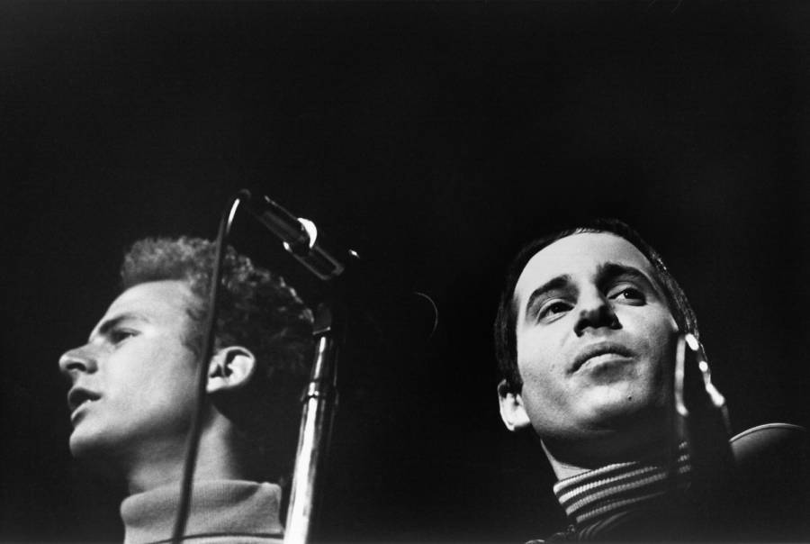 Simon And Garfunkel At Monterey Pop Festival