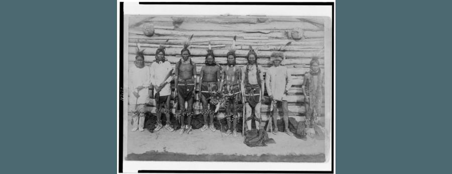 Sioux Ceremonial Dancers