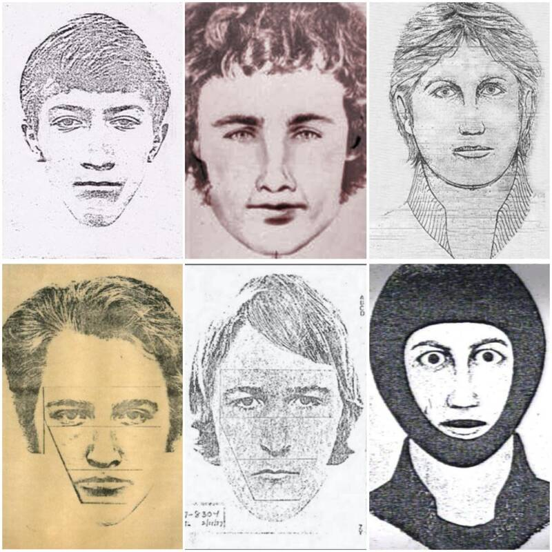 Sketches Of The East Area Rapist