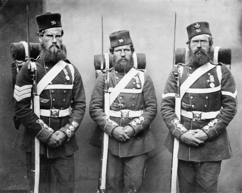 Soldiers With Bayonets