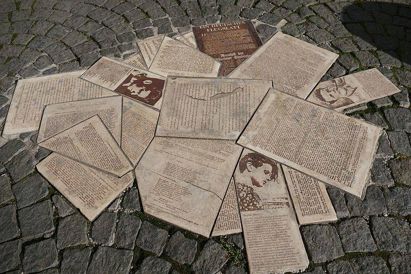 Sophie Scholl White Rose Memorial