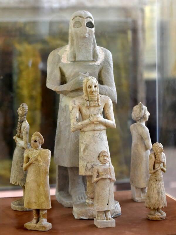 Sumerian Statues