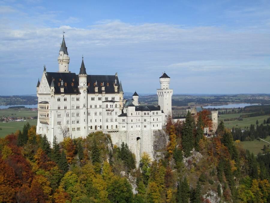 The Disney Castle In Germany