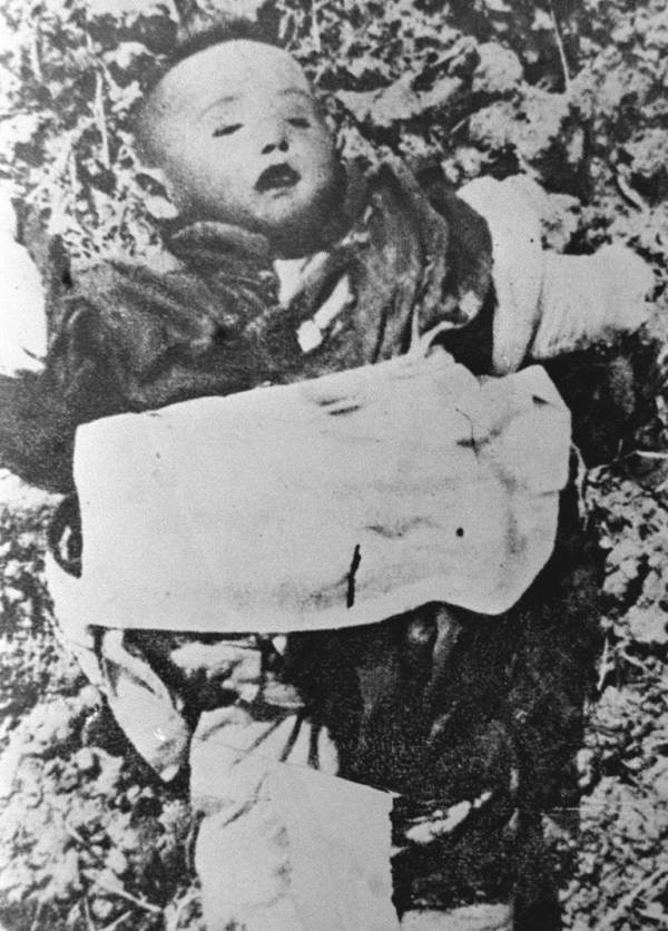 Nanking Massacre Dead Child