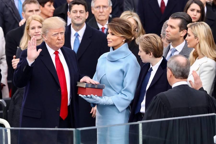 Trump Swearing In