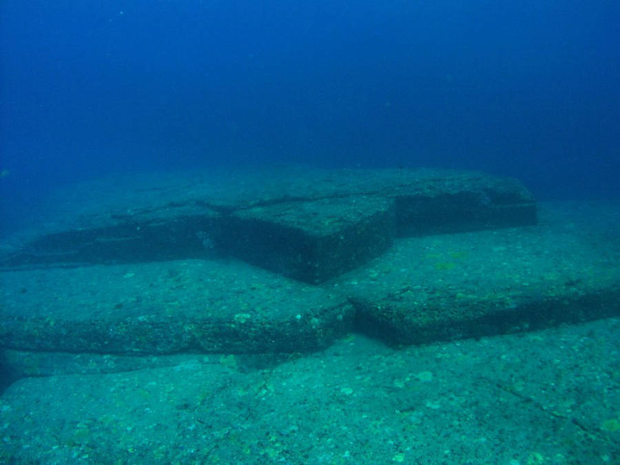 Turtle Formation At Yonaguni Monument