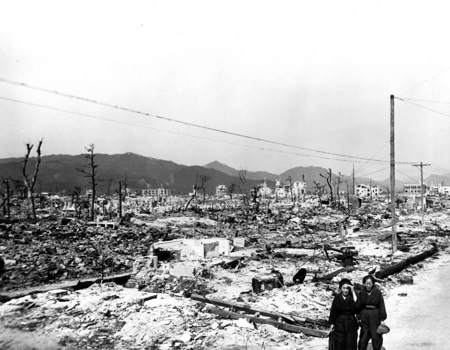 Hiroshima Aftermath Victims