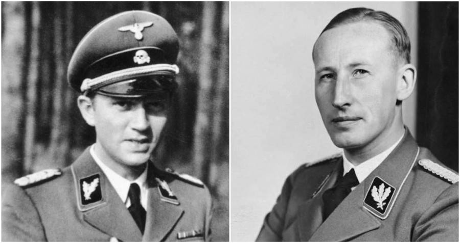 Walter Schellenberg And Reinhard Heydrich