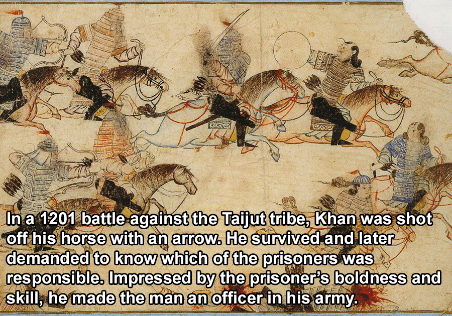 War Waged By Genghis Khan