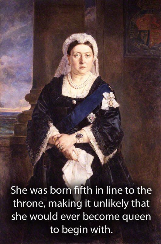Watercolor Painting Of Queen Victoria