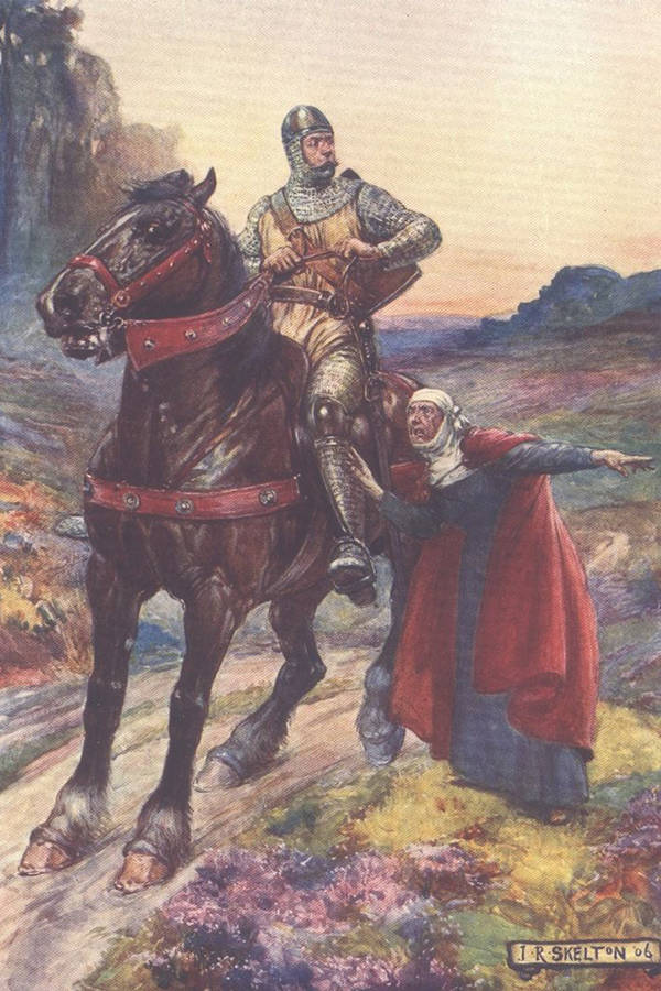 William Wallace On Horse
