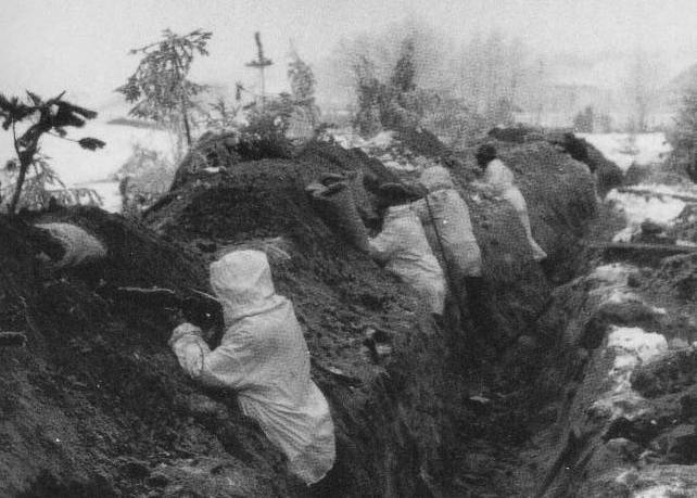 Winter War Trenches