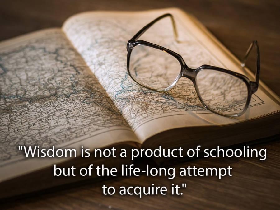 Albert Einstein Quotes About Wisdom