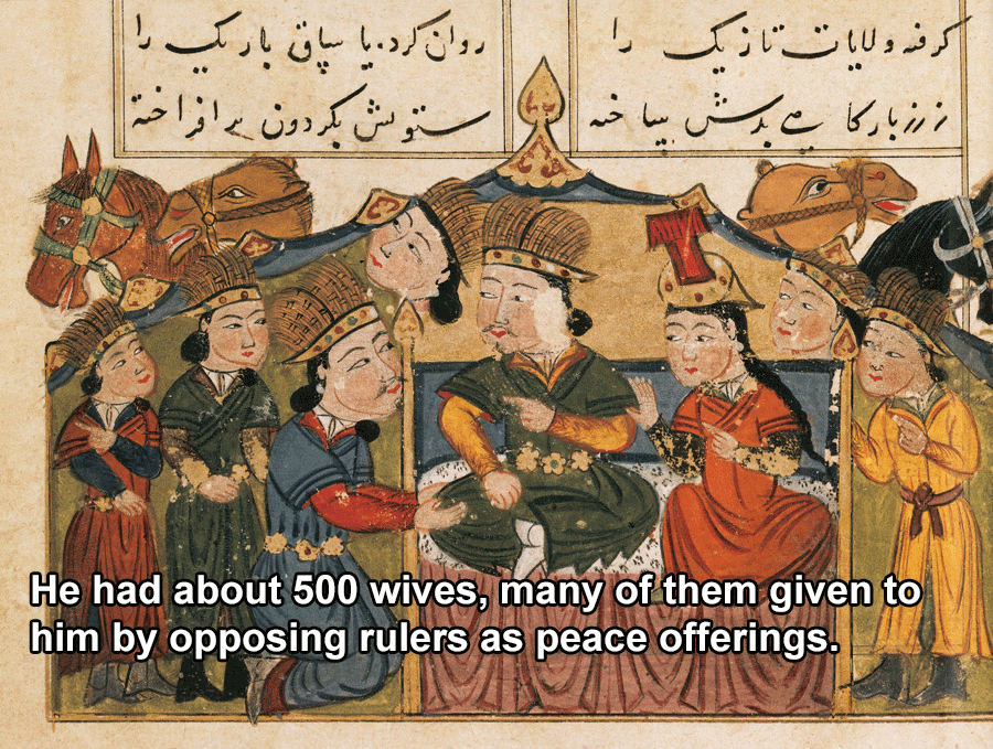 Genghis Khan Facts Wives