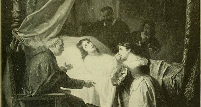 Woman Dying