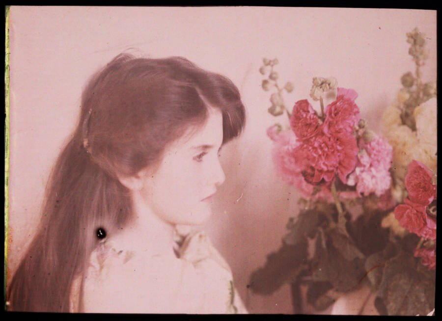 Young Girl Autochrome